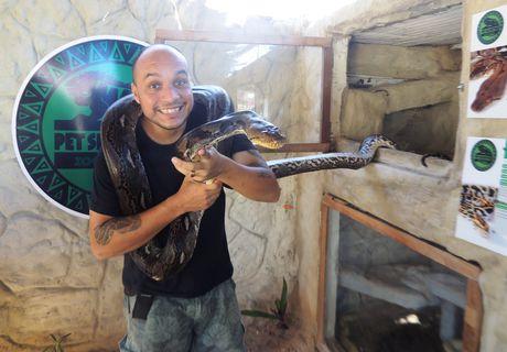 1º Zoológico Interativo do Brasil faz sucesso em Alagoas
